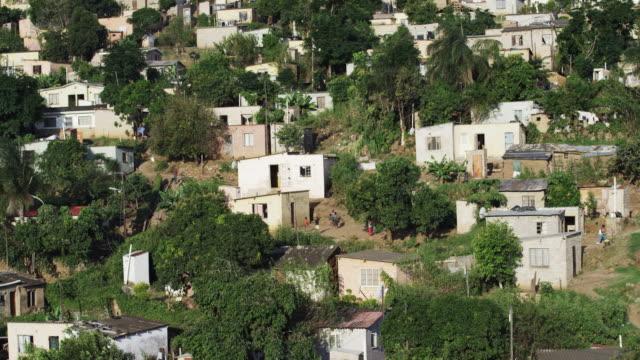 Locals in South African village