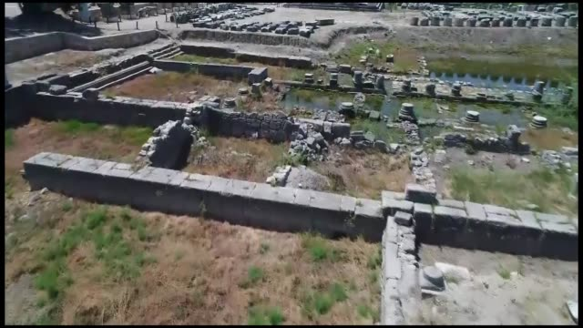 located in southwestern of turkey unesco world heritage site letoon possesses a memory of whole lycia region a university professor saidletoon... - mugla province stock videos and b-roll footage