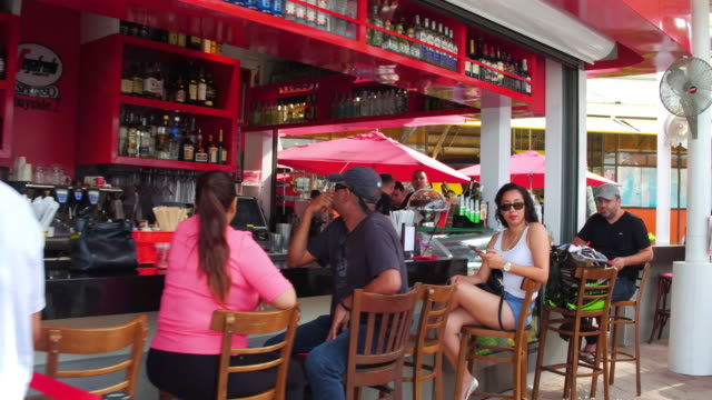 located on biscayne bay in the heart of downtown miami visitors of bayside marketplace can experience miami international cuisine fine shops and... - biscayne bay stock videos & royalty-free footage