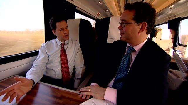 nick clegg mp interview with reporter in shot sot every single peer who had any question marks raised about their expenses referred themselves or... - クリス・レナード点の映像素材/bロール