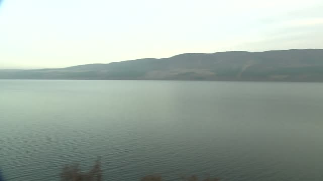 loch ness lake in scotland - panoramic stock videos & royalty-free footage