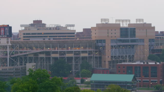 lockdown: buildings in knoxville tennessee (shot on red) - university of tennessee stock videos and b-roll footage