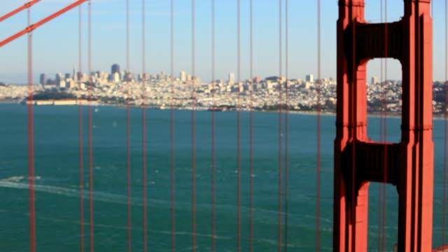 lockdown: focusing on the golden gate bridge - pier stock-videos und b-roll-filmmaterial