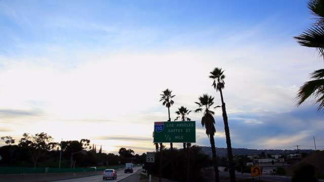 Lockdown: Road Sign of Los Angeles Gaffey Street
