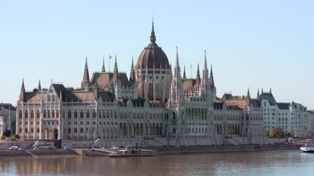 Lockdown: Stunning View Across the Danube to the Hungarian Parliament Building