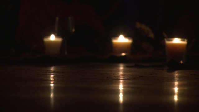 Lockdown: Three Candles on Venice Beach California