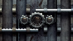 Locked Vault Opening Animation