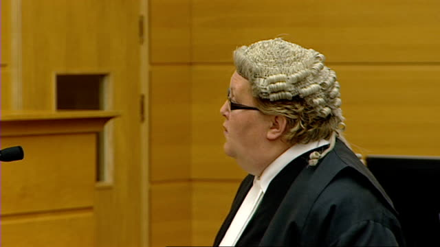 edinburgh high court grants al megrahi's application to abandon his appeal against conviction scotland edinburgh high court court of criminal appeal... - sentencing stock videos & royalty-free footage
