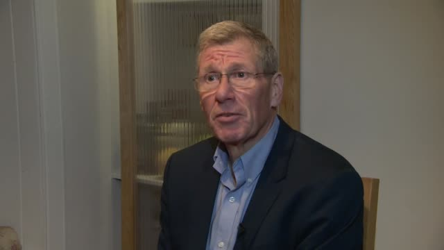 Memorial service to be held to mark 30th anniversary of Lockerbie bombing SCOTLAND INT Kenny MacAskill reading book 'The Lockerbie Bombing' by Kenny...