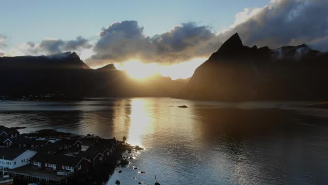 lofoten island - fishing industry stock videos & royalty-free footage