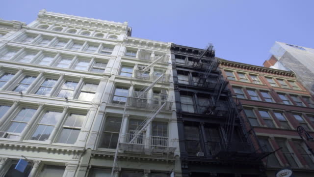 soho loft - establishing shot - loft apartment stock videos & royalty-free footage