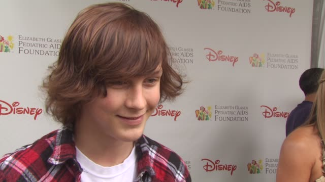 logan miller on attending event at the 21st annual 'a time for heroes' celebrity picnic benefit at los angeles ca - a time for heroes stock videos & royalty-free footage