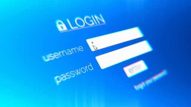 4k login page - e mail stock videos & royalty-free footage