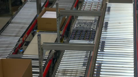 stockvideo's en b-roll-footage met logistics centre of a mail-order company for office products, grossostheim, bavaria, germany, europe - shopping centre