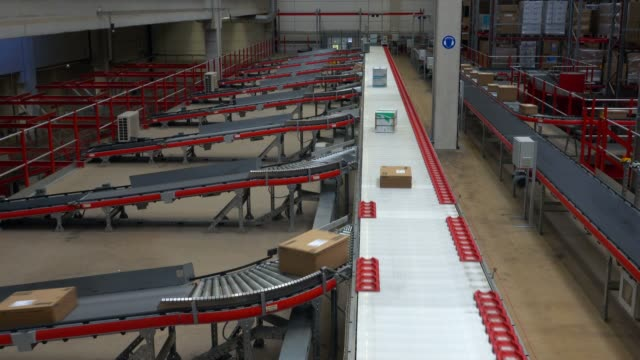 Logistics centre of a mail-order company for office products, Grossostheim, Bavaria, Germany, Europe