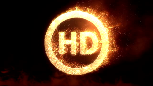 HD Logo With Fire