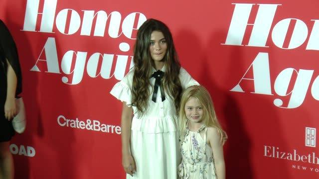 """Lola Flanery Eden Grace Redfield at """"Home Again"""" Premiere in Los Angeles CA"""