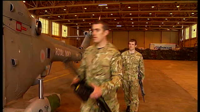 armed forces prepare for terrorist threat england lincolnshire raf waddington ext artillery and missile launchers helicopter rocket launcher unnamed... - british military stock videos & royalty-free footage