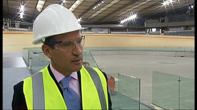 controversy over legacy of olympic stadium after the 2012 games stratford olympic park lord coe interview sot london ext david lammy mp interview sot - ロンドン ストラトフォード点の映像素材/bロール