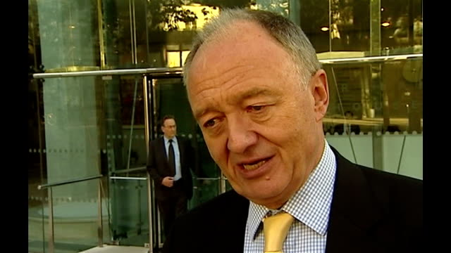 stockvideo's en b-roll-footage met cost of games 2008 england london ext ken livingstone interview sot we made a guess about the olympics and afterwards we had to work out exactly what... - ken livingstone