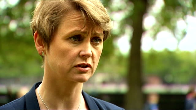 london 2012 olympic games: government and games organisers claim security will not be compromised by g4s problems; ext yvette cooper mp interview sot... - politics and government点の映像素材/bロール