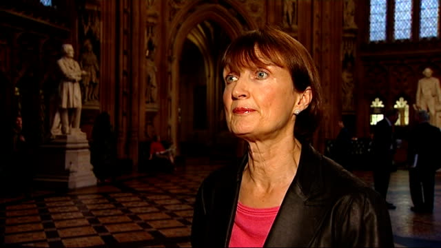 government bails out olympic village westminster int tessa jowell mp interview sot - bail cricket stump stock videos & royalty-free footage