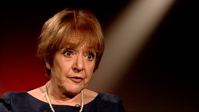 house of commons report predicts the games will go over budget central london int margaret hodge mp interview sot tied into contract by the time they... - マーガレット・ホッジ点の映像素材/bロール