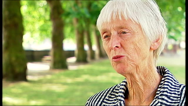 london 2012 olympic games legacy row / economic benefits of games; westminster: baroness campbell interview sot - baroness stock videos & royalty-free footage