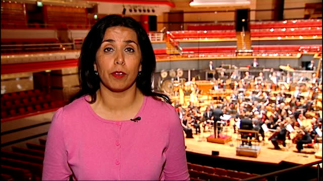 olympic festival of arts begins england birmingham int birmingham symphony orchestra rehearsing for performance sot reporter to camera orchestra... - london symphony orchestra stock videos & royalty-free footage