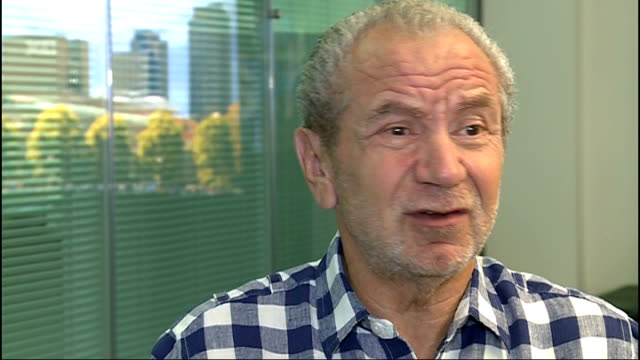 plans to sell stadium collapse london int sir alan sugar interview sot they've spent a fortune on planning applications lawyers / a fortune has been... - alan sugar stock videos and b-roll footage