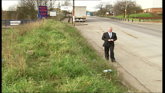 row over escalating costs Stratford Marshgate Lane EXT Reporter to camera WIPE TO