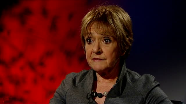 security measures to be doubled int hugh robertson mp interview sot margaret hodge mp interview sot stratford olympic stadium ext close shot of... - マーガレット・ホッジ点の映像素材/bロール