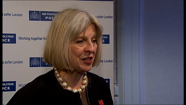 london 2012 olympic games security: theresa may interview; england: london: int theresa may mp sot - govt and everybody wants to deliver a safe... - co ordination stock videos & royalty-free footage