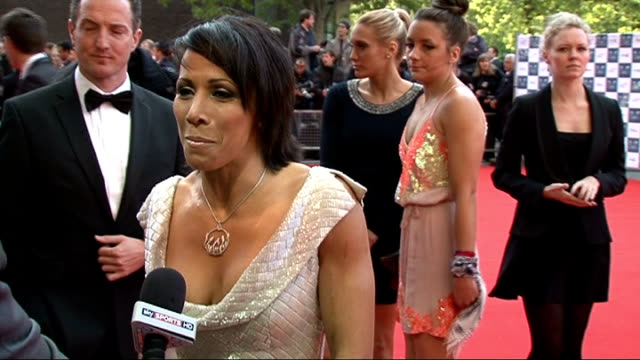 Team GB gala event Gvs of Kelly Holmes GV of red carpet Kelly Holmes Interview SOT It's so exciting that the Olympics is happening here It's such a...