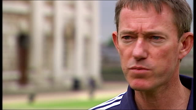 team gb sailing team unveiled england london greenwich stephen park obe interview sot at the national sailing academy you can turn up and sail for a... - sailing team stock videos & royalty-free footage