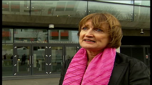 who will fund overspend North London Emirates Stadium EXT Tessa Jowell MP interview SOT you're absolutely right / the memorandum of understanding...
