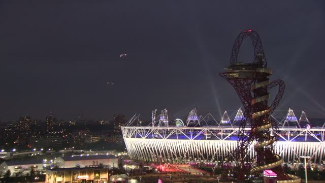 opening ceremony on july 27 2012 in london england - 2012 stock videos and b-roll footage