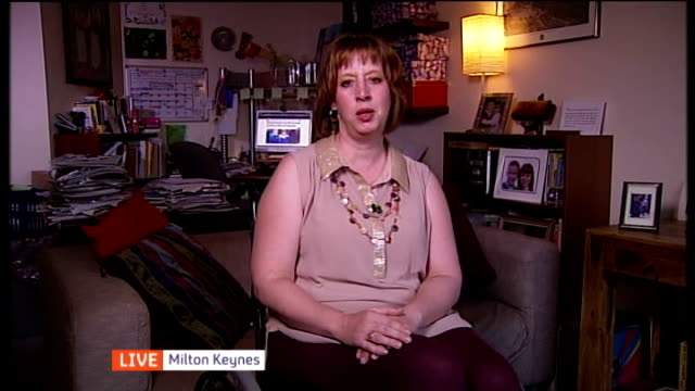 concern over seating space for wheelchairs ENGLAND London GIR / Milton Keynes INT Melissa Chapin LIVE 2WAY interview from Milton Keynes SOT talks of...