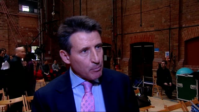 london 2012 paralympic games: details of opening ceremony revealed: lord coe interview; england: london: int various disabled artists and performers... - opening ceremony stock videos & royalty-free footage
