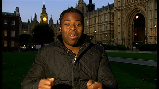 london 2012 paralympic games: search for torch bearers starts / interview ade adepitan; england: london: gir / westminster: int ade adepitan live... - flame stock videos & royalty-free footage