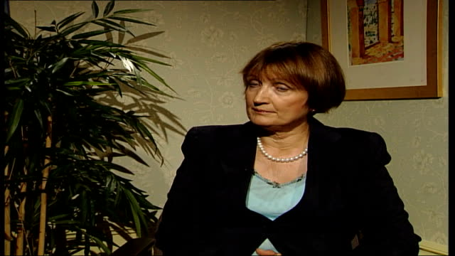 home office report jowell interview england london westminster int tessa jowell mp interview sot don't want emergency service workers to take report... - emergency planning stock videos & royalty-free footage