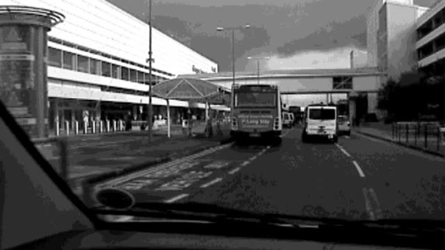 london and glasgow attempted bombings trial bilal abdulla evidence scotland glasgow glasgow airport s point of view from car driving alongside... - glasgow international airport stock videos & royalty-free footage