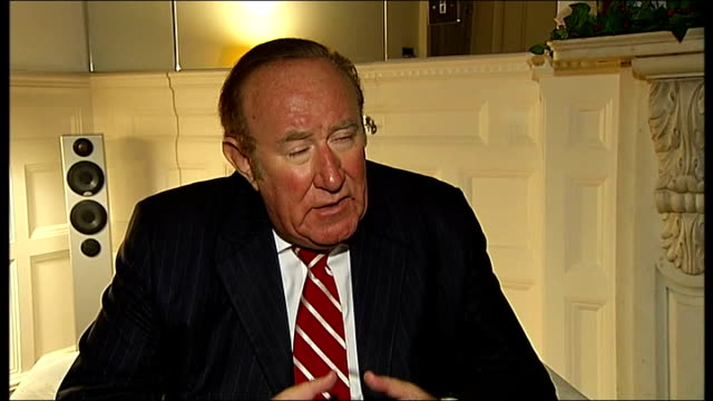 london andrew neil interview sot job of the free press to root out corruption - andrew neil stock videos & royalty-free footage
