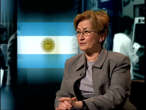 London Ann Pettifor interviewed SOT I think those debts are unpayable I think Argentina's bankrupt and I think unless that crisis is resolved she is...
