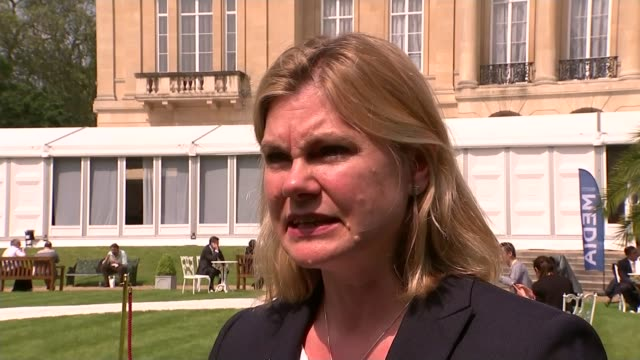 london anticorruption summit opens ext crown on lamppost outside lancaster house justine greening mp along to greet itn reporter justine greening mp... - cigar stock videos & royalty-free footage
