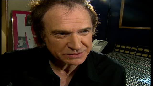 ray davies named as bmi icon; london: hornsey: konk studio: ray davies interview sot - london is always an influence / it's where i grew up / we were... - the kinks stock videos & royalty-free footage