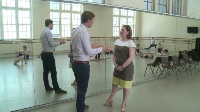 London ballet school appeals for return of stolen costumes Central School of Ballet INT Boxes of equipment Lighting equipment Heidi Hall setup shot...