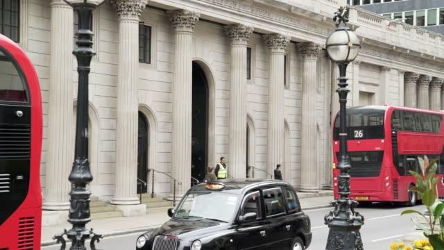 London Bank of England in Threadneedle Street