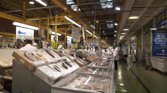 london billingsgate fish market - fish stock videos & royalty-free footage