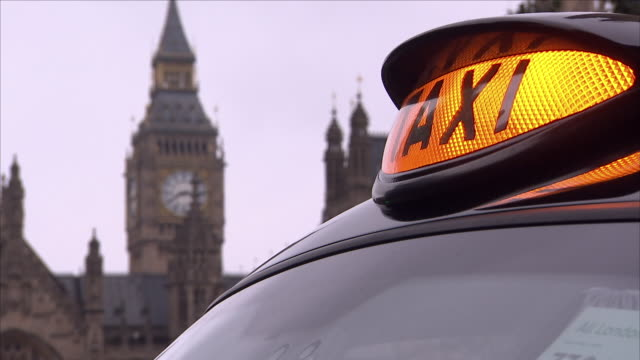 london black cab - taxi stock videos & royalty-free footage